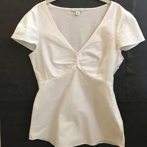 Banana Republic white top